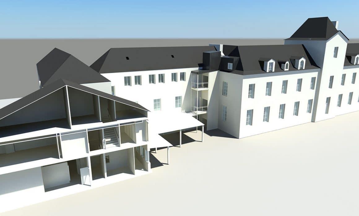 rénovation Lycée Blanche Castille Nantes