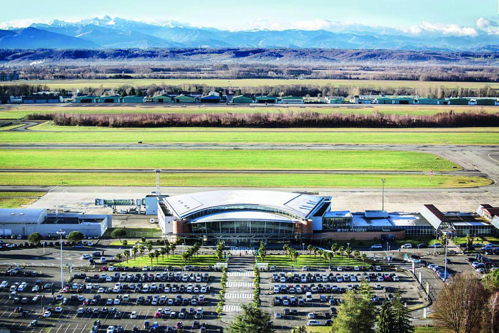 châssis EI60 pour l'aéroport de Pau