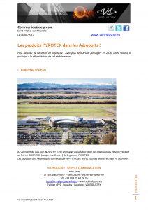CP aéroport de Pau