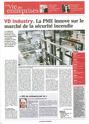 Journal des Entreprises - janvier 2015