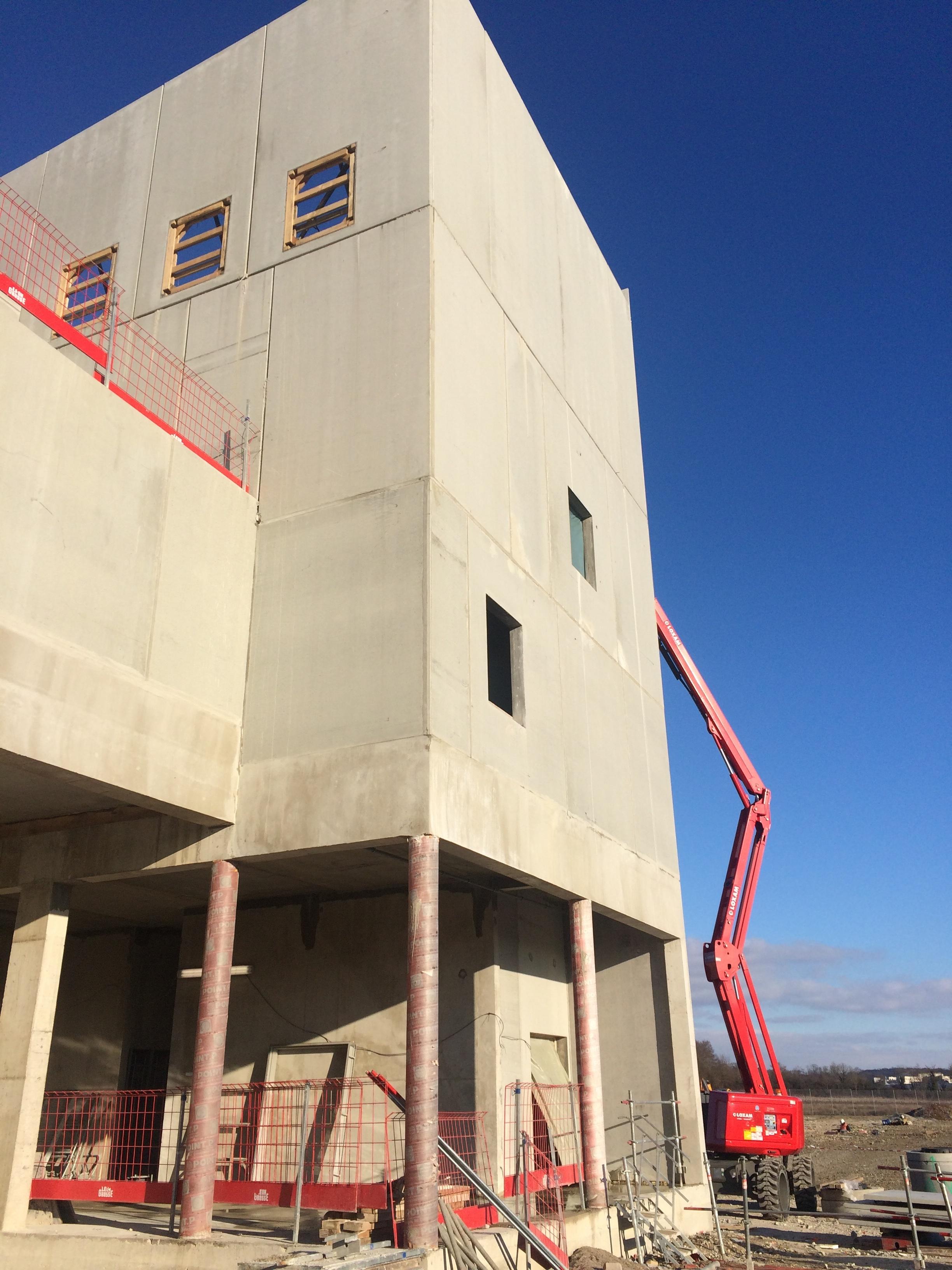 châssis EI30, EI90 et EI120 pour la base nationale de maintenance EDF à Saint-Dizier