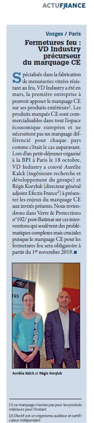 VPM n°100 - novembre 2017 - marquage CE